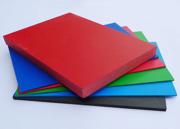Shiny PVC Extruded Foam Board Non Toxic Rigid For Architectural Decoration